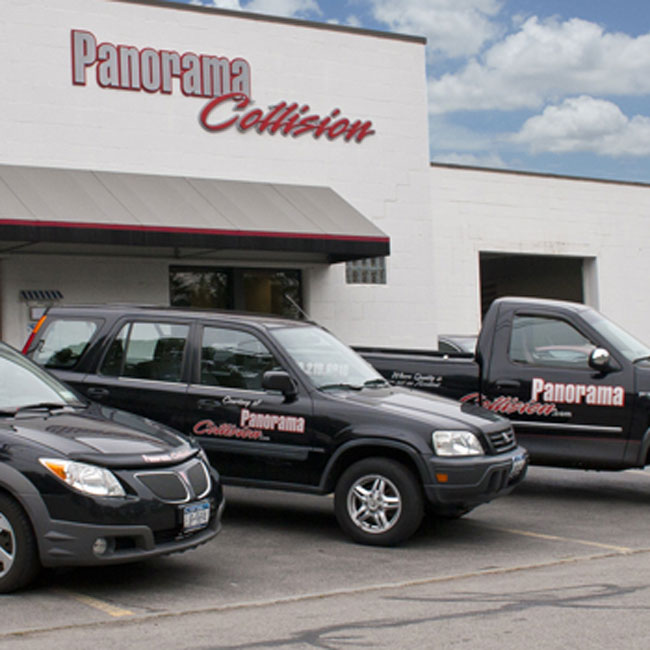 Panorama Collision Metal Department